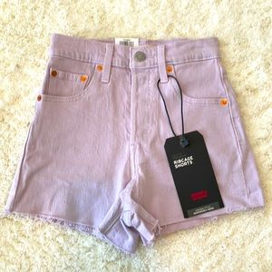 NWT Levi's high-rise shorts size 23